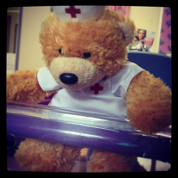 My first teddy.